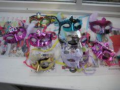 Hen / Bachelorette Party DIY Masquerade Masks