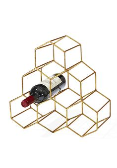 This beautiful wine holder will take any living room or kitchen space to the next level. Bonus: it's under $70