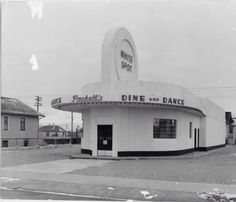 """Remember this building? Before it became the Crescent Heights Library it was a neon-lit dance club called """"Puckett's Dine and Dance"""". Calgary, Dining, History, Building, Travel, Neon, Album, Art, Art Background"""