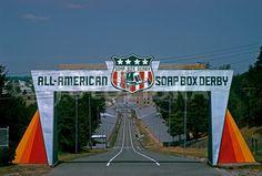 Soap Box Derby Akron | Soap Box Derby course, Akron, 1965.