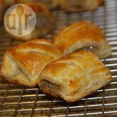 Mini saucijzenbroodjes @ allrecipes.nl
