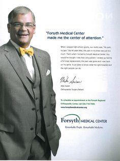Forsyth Medical Center Print Ad