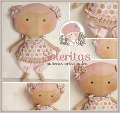 Soleritas Muñecas Artesanales: Tilda sweetheart