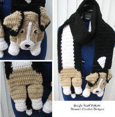 Beagle Scarf Crochet Pattern