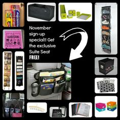 Love organizing and need some extra cash? It's only $149 for the Clever Container Clutter Cutter Consultant Kit worth twice that! Get all of this plus the Suite Seat BONUS if you sign up in November. www.mycleverbiz.com/breezybrenda
