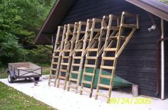 Free deer shooting blind plans for your to learn how to for Free ladder stand plans