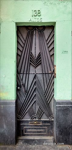 Art Deco Door - Mexico City | Flickr - Photo Sharing!