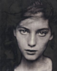 By Paolo Roversi, 1990, Lucie, Paris.