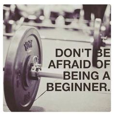 This is very true and something I struggle with. Sometimes it sucks being a beginner but you have to start somewhere..