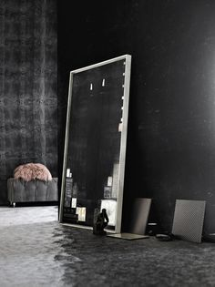✿ Black Interior design Méchant Design: black