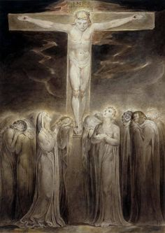 William Blake / The Crucifixion  / 1805