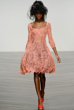 John Rocha         Nothing special - double sts, treble sts... :)                   Fall-Winter 2013-2014
