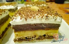 Easy Cake : Ingenious FANTA cake with quark filling: Who does not cost it, can regret it! Easy Cake Decorating, Sweet And Salty, Sweet Recipes, Tiramisu, Nutella, Bakery, Deserts, Food And Drink, Pudding