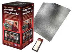 Air Reflective Garage Door Insulation Kit