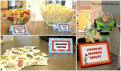 Toy Story Birthday Party Ideas - Toys for years old happy toys Toy Story Food, Toy Story Baby, Toy Story Theme, Toy Story Birthday, Third Birthday, Birthday Party Snacks, 3rd Birthday Parties, Birthday Ideas, Festa Toy Store