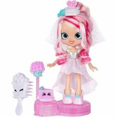 """Shopkins Shoppies Series 4 Party Themed Bridie Wedding Party Doll - Light Pink - Moose Toys - Toys""""R""""Us Shopkins Season 7, New Shopkins, Shopkins Guide, Shopkins Ideas, Shoppies Dolls, Shopkins And Shoppies, Barbie Ballet, Vip Card, Disney"""