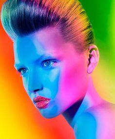 Super star .. photographer: Signe Vilstrup model: Anne-Sofie List ... make-up: Anne Staunsager Hair: Søren Bach ...