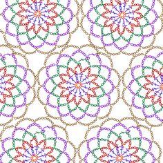 PANTIP.COM : J5380047 อยากได้Pattern เสื้อโครเชต์ต่อดอก(สำหรับคุณแม่)ค่ะ [งานฝีมือ] Crochet Tablecloth Pattern, Crochet Motif Patterns, Crochet Mandala, Crochet Diagram, Crochet Chart, Crochet Doilies, Crochet Flowers, Crochet Wool, Crochet Pillow