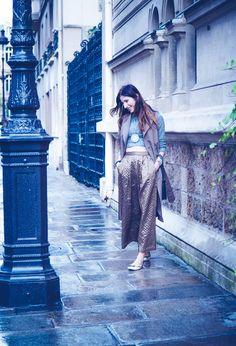 Look do dia em Paris: Conforto com estilo