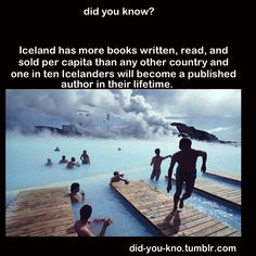 Wonder if this I true. << Me too. If it is...I think I shall move to Iceland, ha ha.