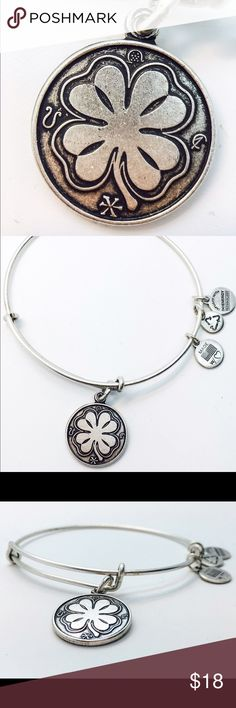 Alex and Ani Four Leaf Clover EWB RS New with no tags!!                                                        Pictures by me!! Alex & Ani Jewelry Bracelets