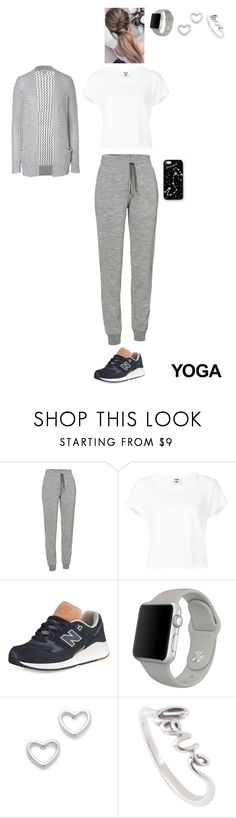 """""""Namaste: What to Wear to Yoga"""" by leacousty55 on Polyvore featuring mode, Icebreaker, RE/DONE, New Balance, Apple, Marc by Marc Jacobs, Kate Spade Saturday et Michael Kors"""