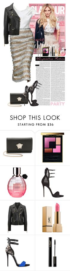 """If you can't stop thinking about it , buy it !!!"" by vampirelina ❤ liked on Polyvore featuring mode, Versace, Yves Saint Laurent, Viktor & Rolf, Giuseppe Zanotti, Louis Vuitton et Christian Dior"