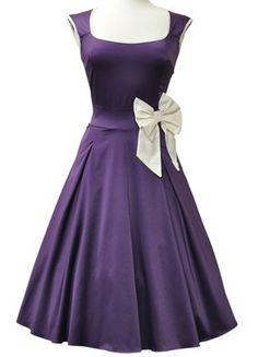Dolly Darling Dress in Purple