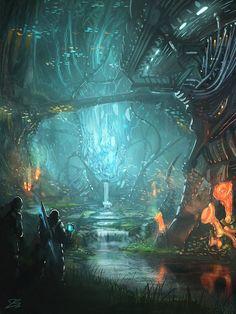 Sanctuary of the Ancients by whatzitoya.deviantart.com