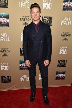 Wes Bentley, Matt Bomer + More Step Out for American Horror Story: Hotel Premiere