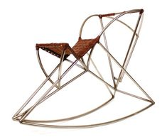 """""""Hesus is a rocking horse that gets back to basics. Designed by J.Key Schneyorson, it's built based on the repeated shape of the sector of a circle but at various scales."""""""