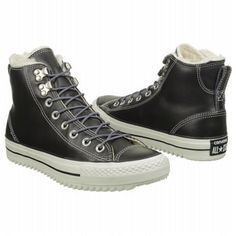 Converse All Star City Hiker High Top Sneaker Black/White Leather