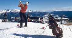 snow golf event in schneeberg nächste woche mit Doppel Snow Golf Weltmeister Adi Hengstberger