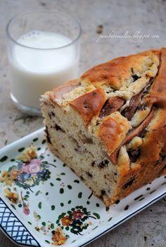 Cake alle pere con cioccolato e cannella
