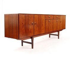 Found on www.botterweg.com - Sideboard with doors and drawers design Arnold Merckx Jr 1967 execution Fristho Franeker / the Netherlands