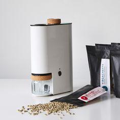IKAWA Home Coffee Roaster with 12 packs of green coffee beans.jpg