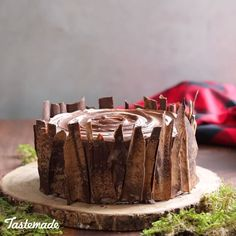 Savory magic cake with roasted peppers and tandoori - Clean Eating Snacks Yummy Treats, Delicious Desserts, Yummy Food, Chocolate Cheesecake, Chocolate Recipes, Nutella Chocolate, Cake Cookies, Cupcake Cakes, Lumberjack Cake
