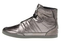 1e551c9769f03 Gunmetal silver adidas Y-3 Honja High