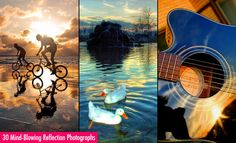30 Mind-Blowing Reflection Photography examples and Tips for beginners. Follow us www.pinterest.com/webneel