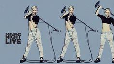 Miley Cyrus Hosts SNL 41st Season Premier – Review