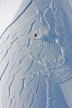 Andrea Binning at Knight Inlet, British Columbia, Canada. Photo by Mark Gallup. #ski