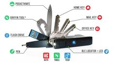Replace your bulky key chain or jingly keyring & build your Keyport Pivot modular multi-tool - Keys • Pocket Tools • Smart Tech • Lost & Found ALL-IN-ONE