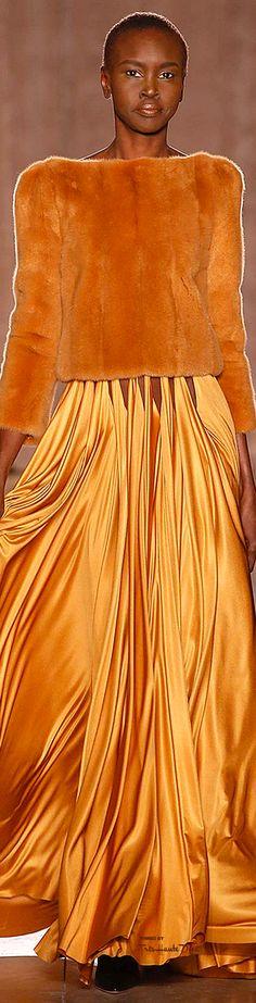 New York Fashion Week. Zac Posen. Fall 2015. Ready-To-Wear.