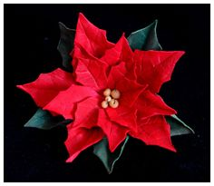 14 Craft Bar: Foamiran Poinsettia