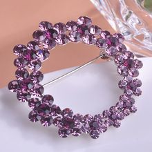 2015 Fashion Rhinestone Brooches Hat Accessories Collar Jewelry Safety Pins Up Style Bridal Brooch Bouquet Broche Broach Corsage(China (Mainland))