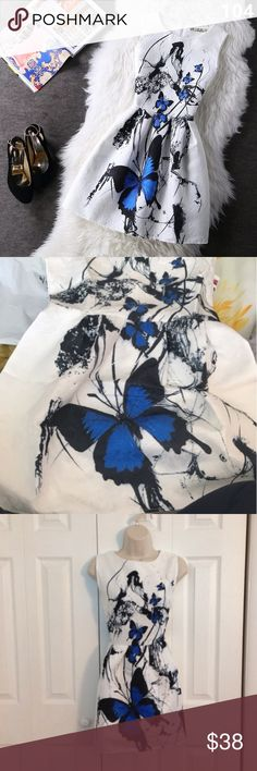 SALE 💕 White Mini Dress - Size S 🆕 💕 White Mini Dress - Size S Maison Folies Dresses