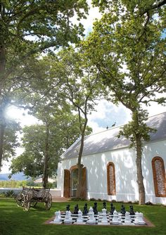 La Motte in Franschhoek which now belongs to the Rupert family.