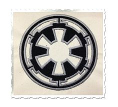 Star Wars Empire Applique Machine Embroidery Design - 4 Sizes