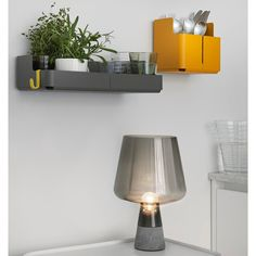 Aitio storage objects by Iittala, design by Cecilie Manz. Grey Leimu lamp and white Vakka plywood storage boxes also by Iittala. Design Shop, House Design, Deco Paris, Design Light, Support Mural, House And Home Magazine, Elle Decor, Home Accessories, Furniture Design