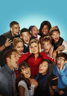 Glee  @Kathy Chan Herald I am pinning this just for you! because I know how much you LOVE Glee!